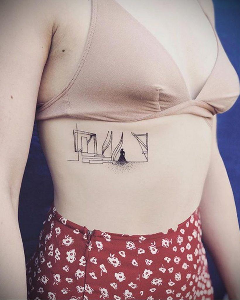 Маленькая женщина – Лучший дизайн костюма - фото тату 1