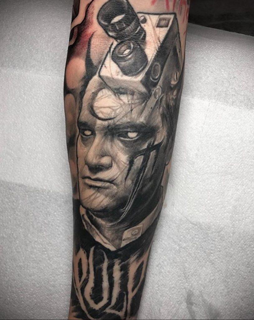 Однажды в Голливуде – Лучший актер – Брэд Питт - фото тату 1