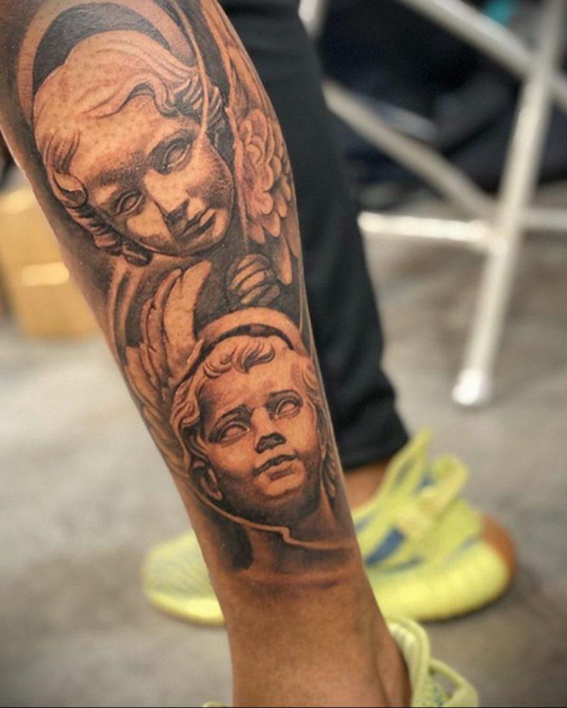 Фото татуировки сделанной в ходе тату конвенции GOLDEN STATE TATTOO EXPO 2020 10