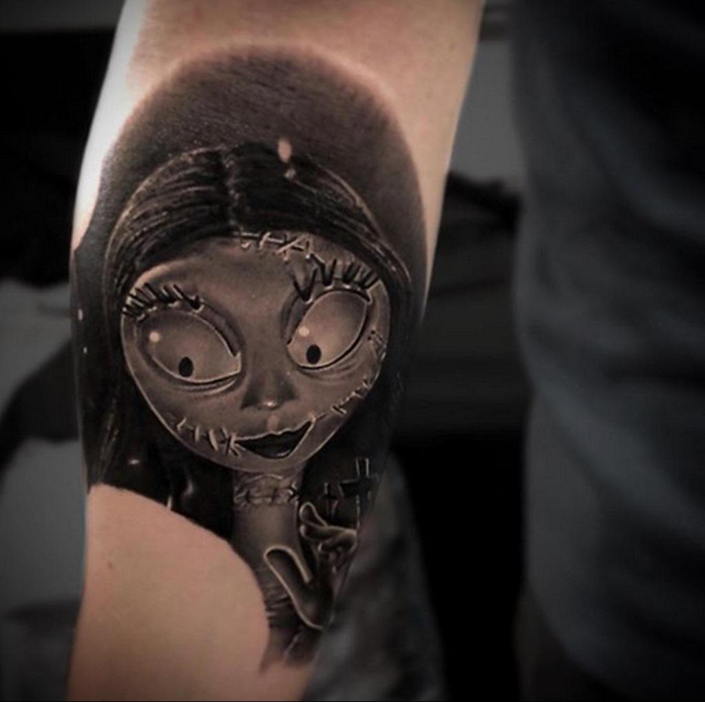 Фото татуировки сделанной в ходе тату конвенции GOLDEN STATE TATTOO EXPO 2020 18