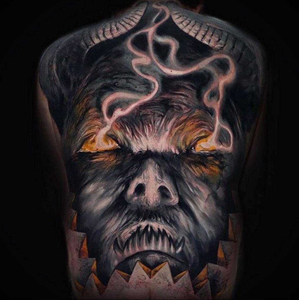 Фото татуировки сделанной в ходе тату конвенции GOLDEN STATE TATTOO EXPO 2020 23