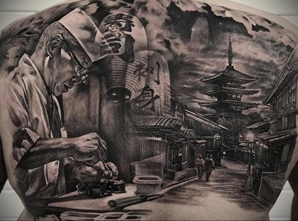 Фото татуировки сделанной в ходе тату конвенции GOLDEN STATE TATTOO EXPO 2020 25