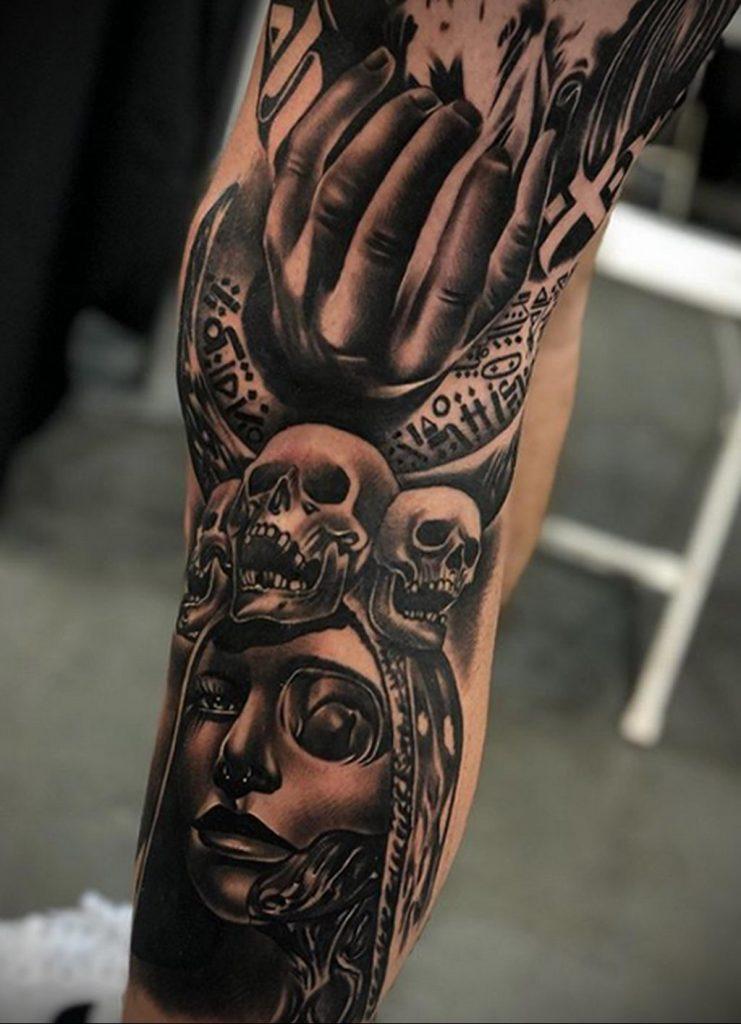 Фото татуировки сделанной в ходе тату конвенции GOLDEN STATE TATTOO EXPO 2020 32