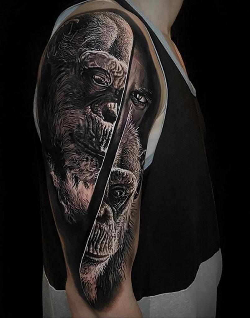 Фото татуировки сделанной в ходе тату конвенции GOLDEN STATE TATTOO EXPO 2020 33
