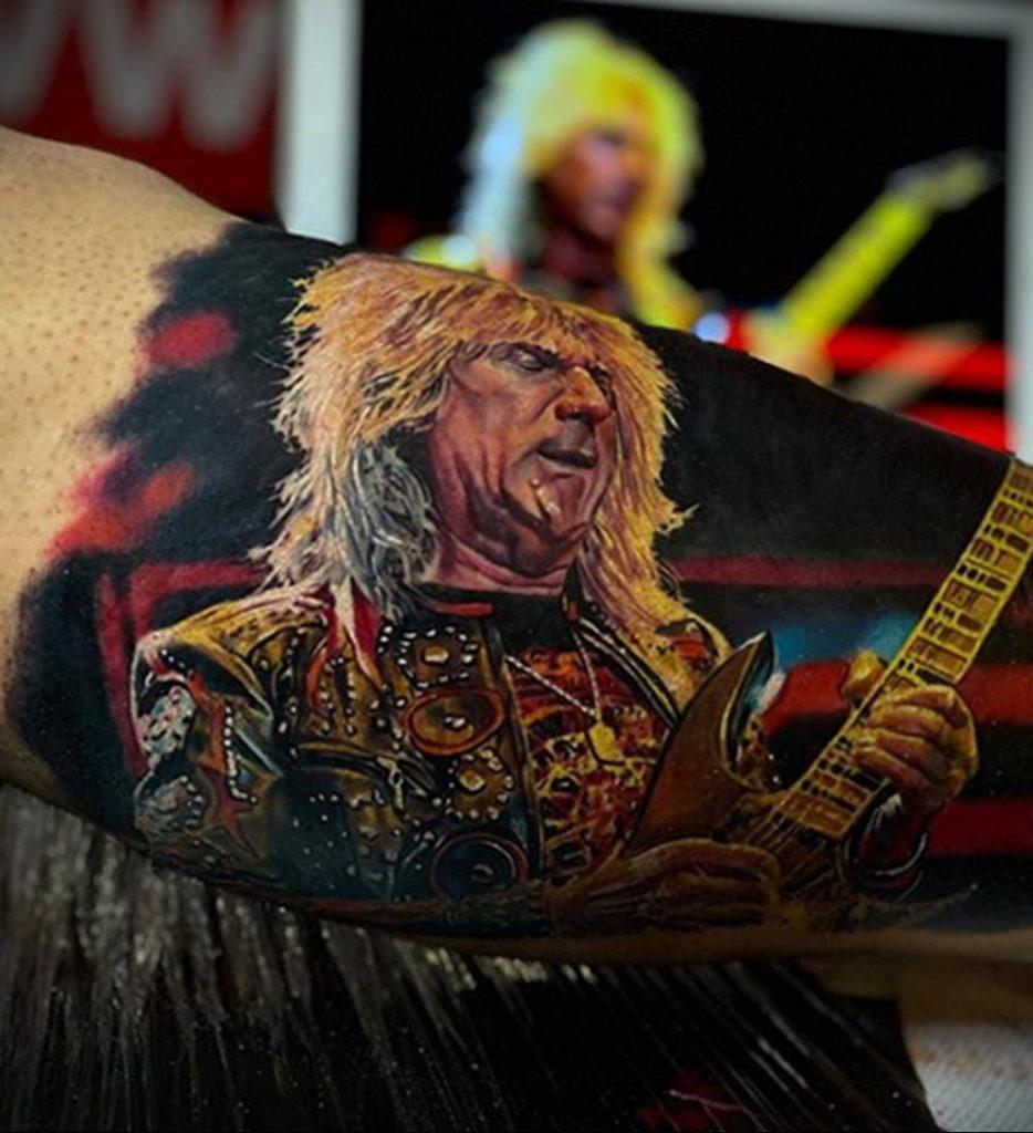 Фото татуировки сделанной в ходе тату конвенции GOLDEN STATE TATTOO EXPO 2020 34