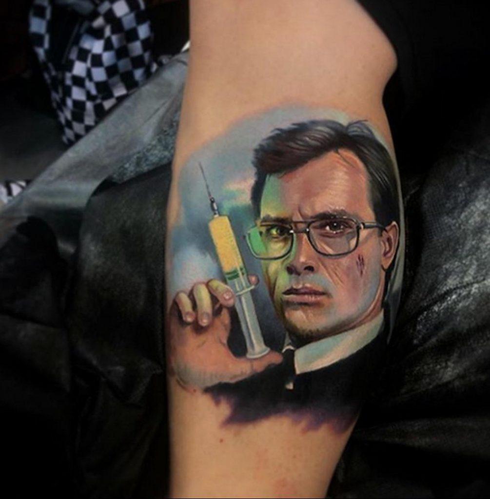 Фото татуировки сделанной в ходе тату конвенции GOLDEN STATE TATTOO EXPO 2020 6