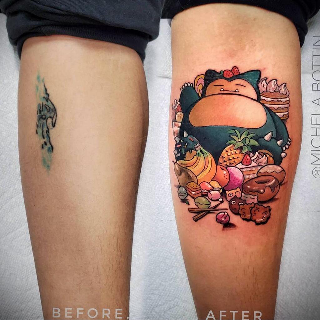 Фото татуировки с покемоном ко всемирному дню покемона – tatufoto.com 10