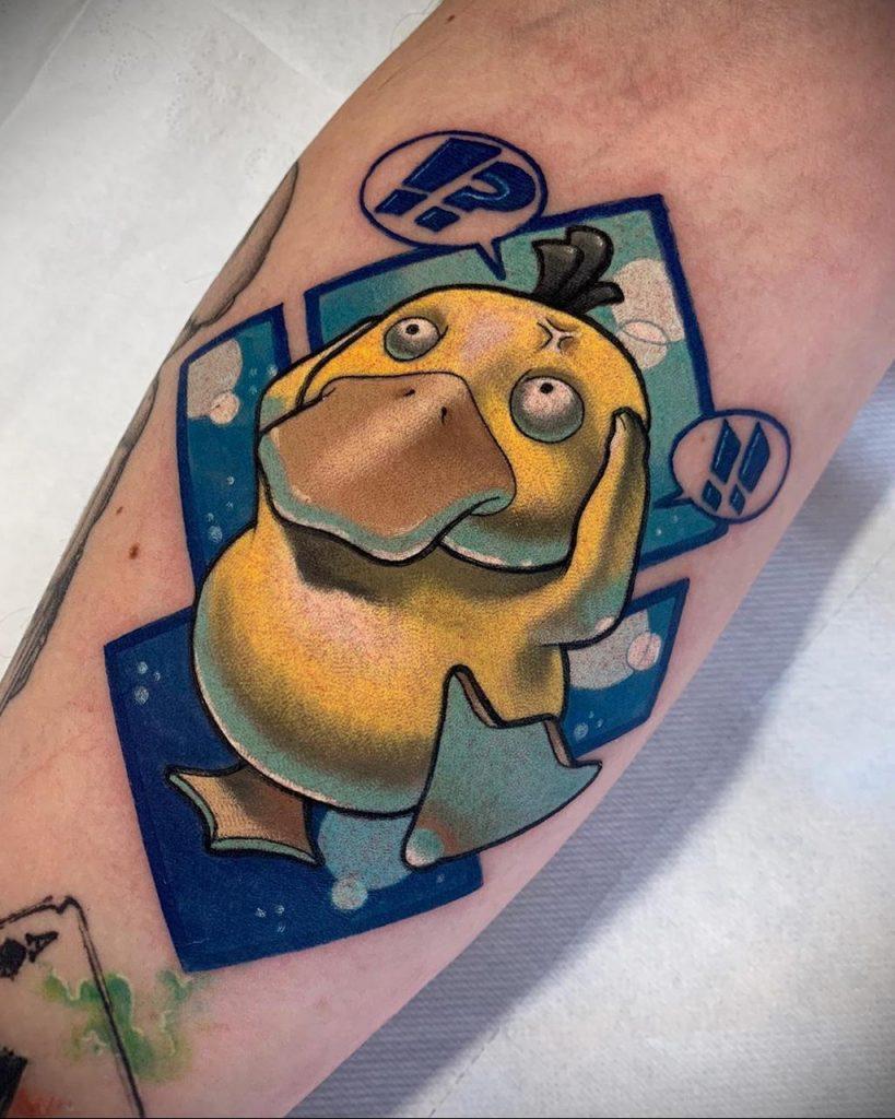 Фото татуировки с покемоном ко всемирному дню покемона – tatufoto.com 14