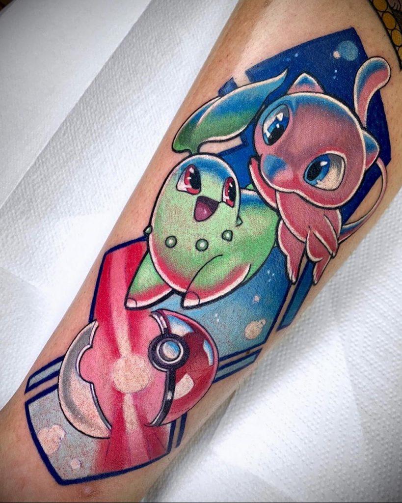 Фото татуировки с покемоном ко всемирному дню покемона – tatufoto.com 15