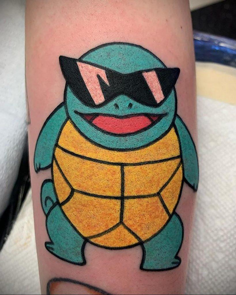Фото татуировки с покемоном ко всемирному дню покемона – tatufoto.com 3