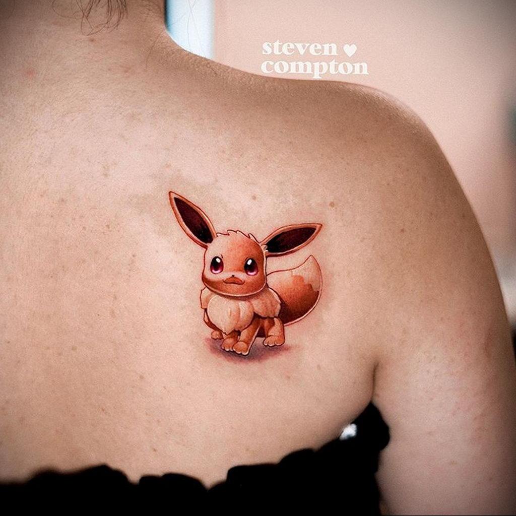Фото татуировки с покемоном ко всемирному дню покемона – tatufoto.com 6