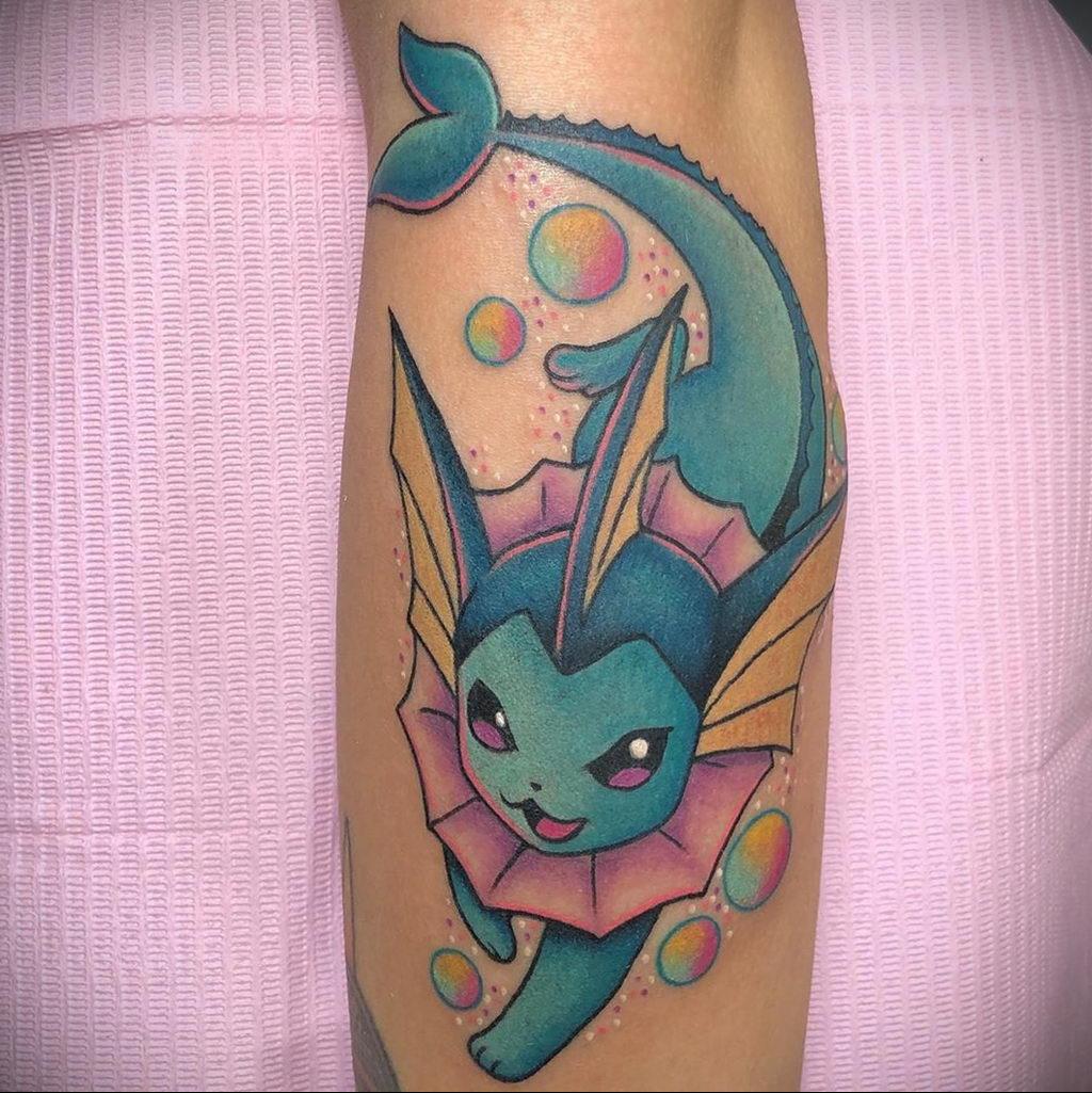 Фото татуировки с покемоном ко всемирному дню покемона – tatufoto.com 8