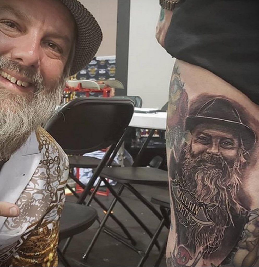 Фото тату рисунка сделанного в рамках Филадельфийской тату конвенции 2020 года - фото 25
