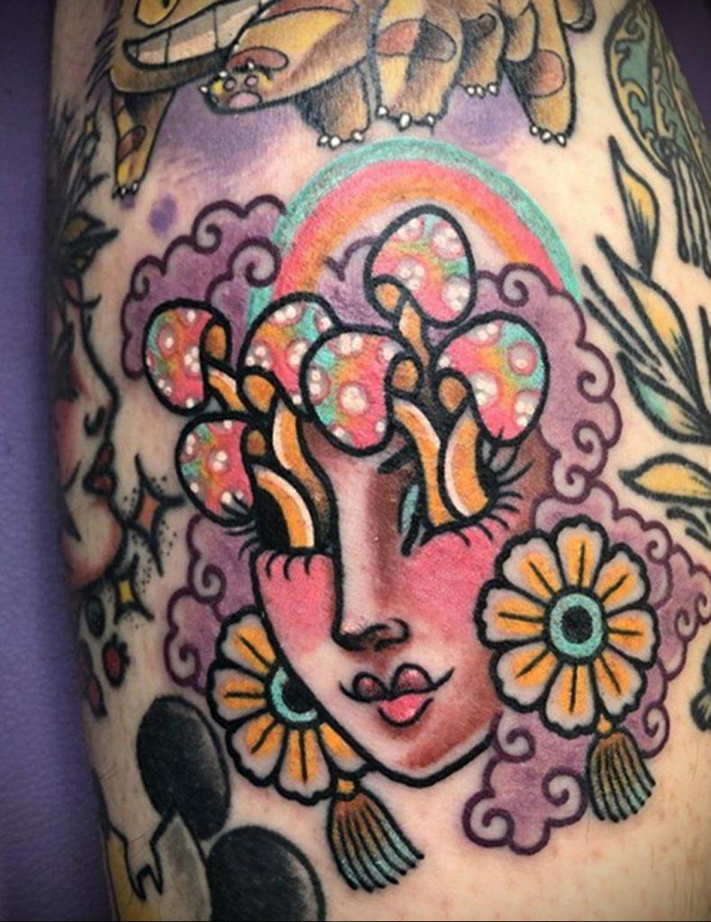 Фото тату рисунка сделанного в рамках Филадельфийской тату конвенции 2020 года - фото 34
