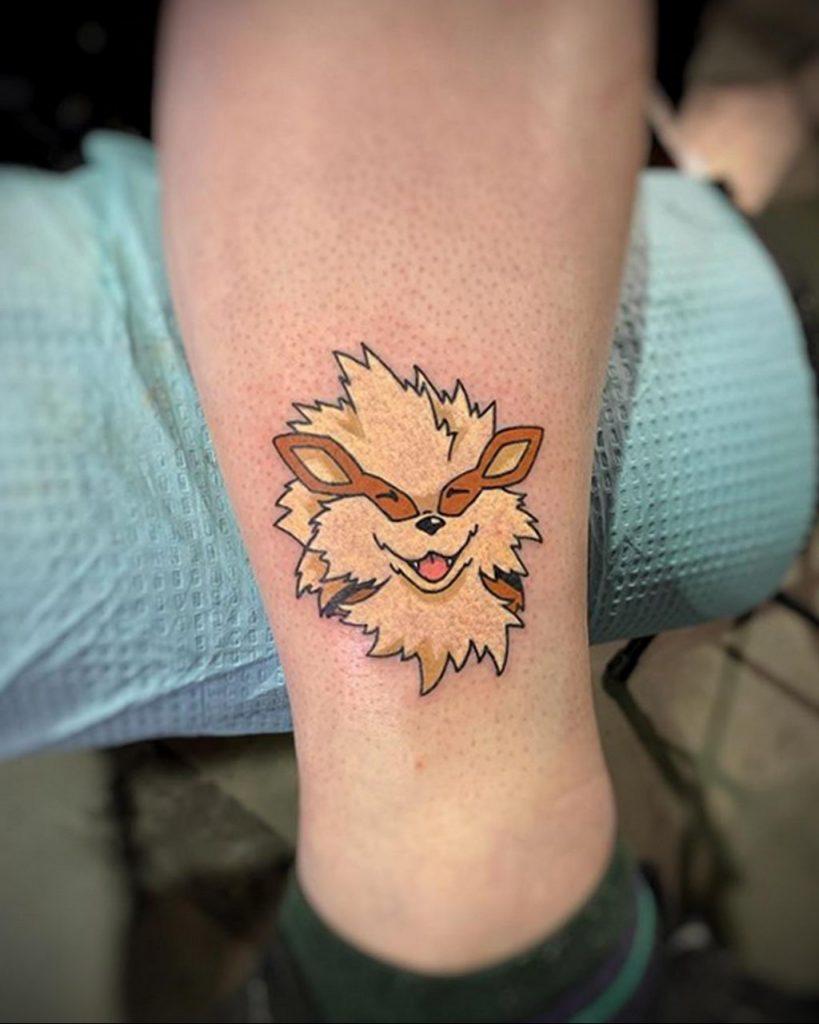 Фото тату рисунка сделанного в рамках Филадельфийской тату конвенции 2020 года - фото 36