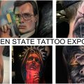 Что вы могли бы увидеть при посещении тату конвенции GOLDEN STATE TATTOO EXPO 2020 - информация и фото тату