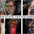 Что вы могли бы увидеть при посещении тату конвенции GOLDEN STATE TATTOO EXPO 2020 - информация и фото тату