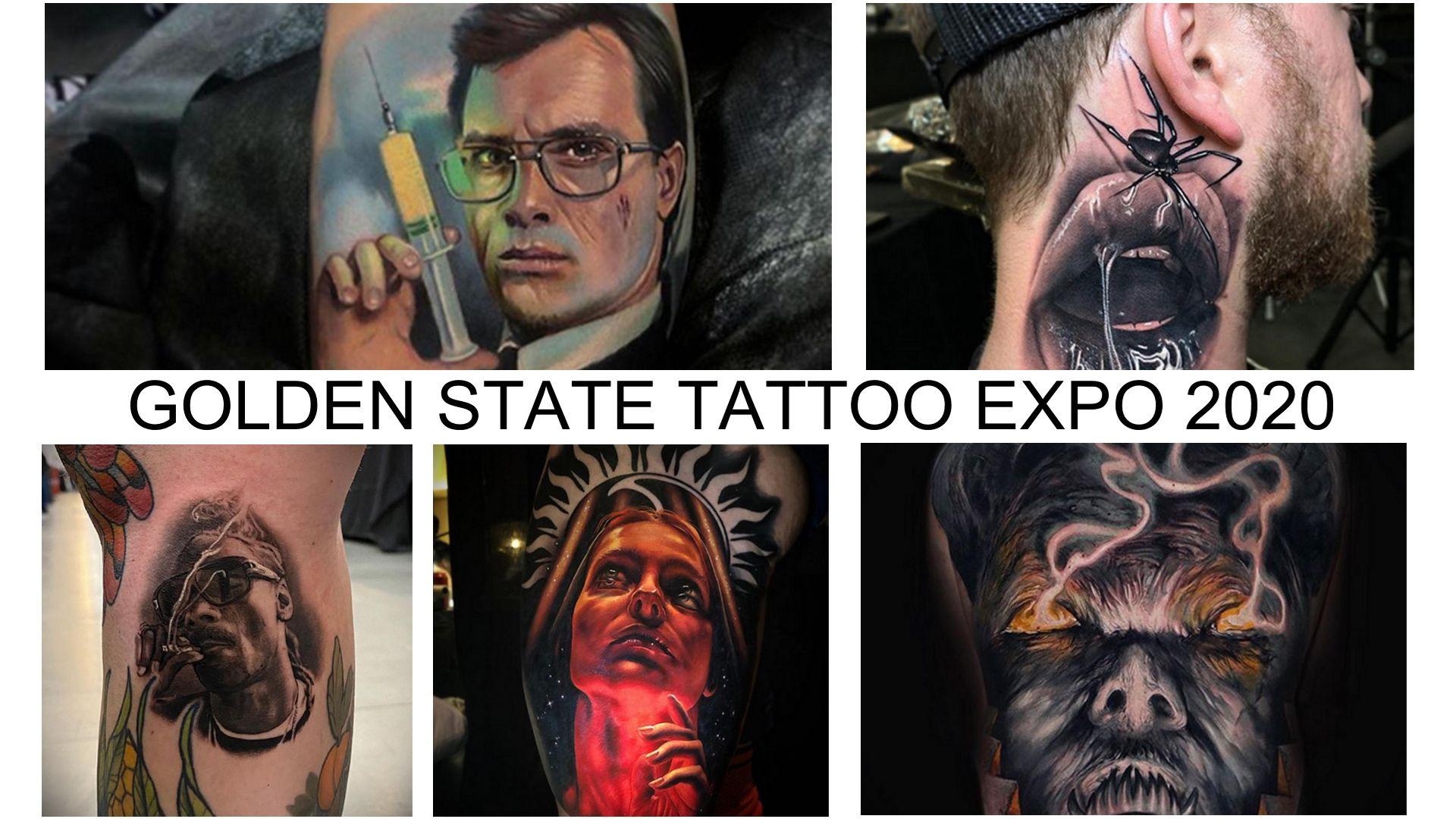 Что вы могли бы увидеть при посещении тату конвенции GOLDEN STATE TATTOO EXPO 2020