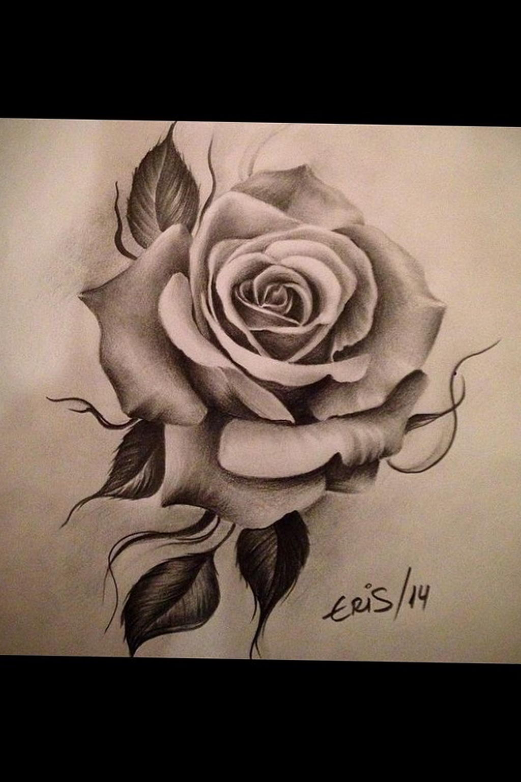 тату белая роза для девушки 04.02.2020 №005 -rose tattoo for girl- tatufoto.com