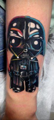 фото тату Дарт Вейдер 04.02.2020 №1208 -darth vader tattoo- tatufoto.com