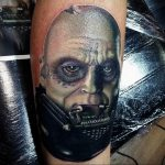 фото тату Дарт Вейдер 04.02.2020 №1377 -darth vader tattoo- tatufoto.com
