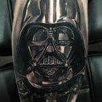 фото тату Дарт Вейдер 04.02.2020 №1391 -darth vader tattoo- tatufoto.com