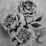 эскиз тату роза для девушки 04.02.2020 №043 -rose tattoo for girl- tatufoto.com