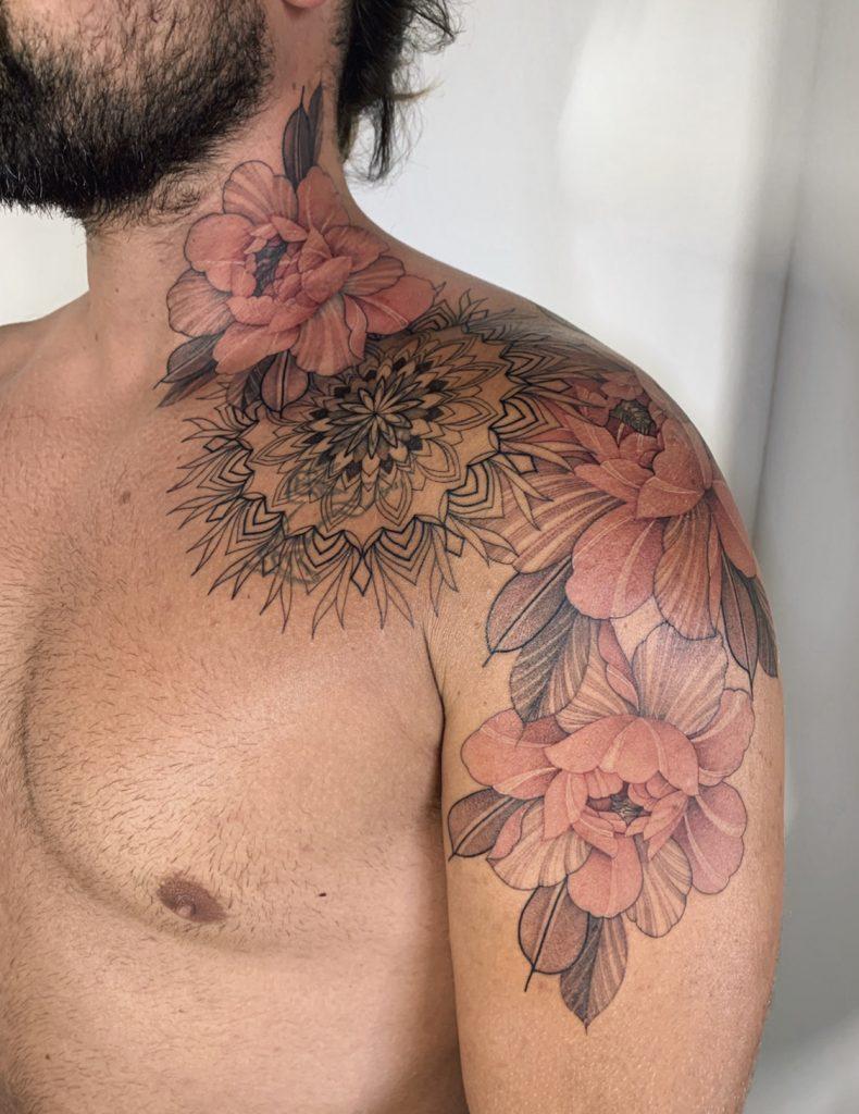 Нора Ляшко - Nora ink – фото готовой татуировки выполненной этим тату мастером - фото 5