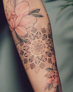 Нора Ляшко - Nora ink – фото готовой татуировки выполненной этим тату мастером - фото 1