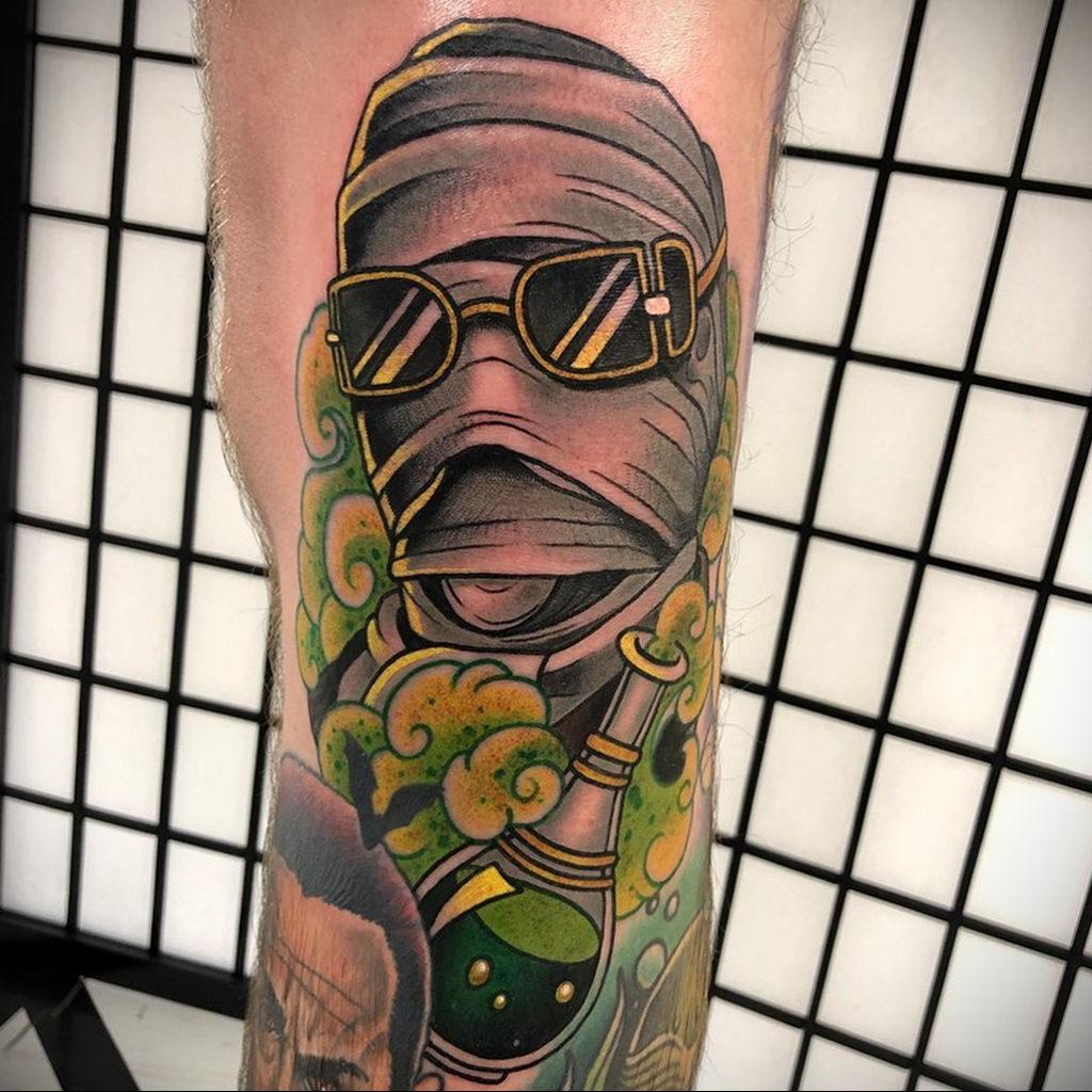 Татуировка с Человеком-Невидимкой – фото рисунка татуировки для сайта tatufoto.com 1