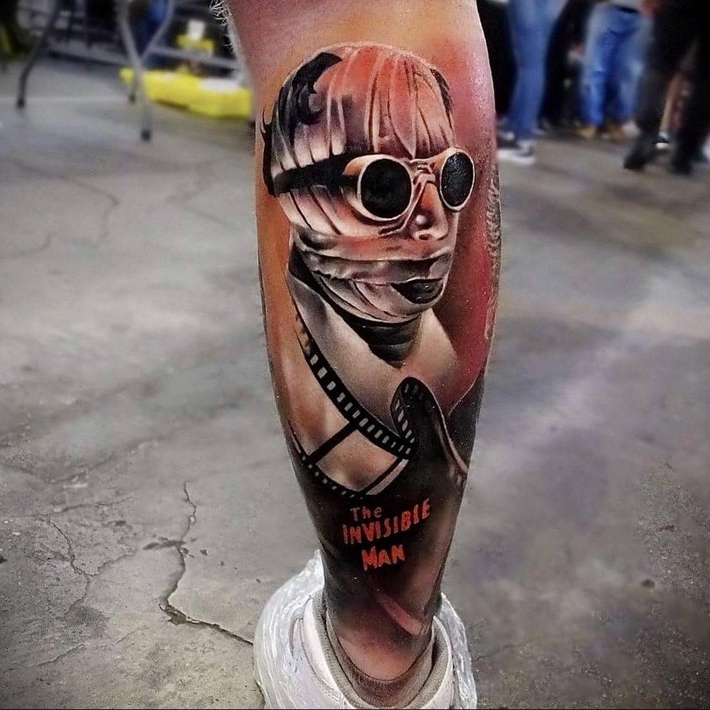 Татуировка с Человеком-Невидимкой – фото рисунка татуировки для сайта tatufoto.com 11