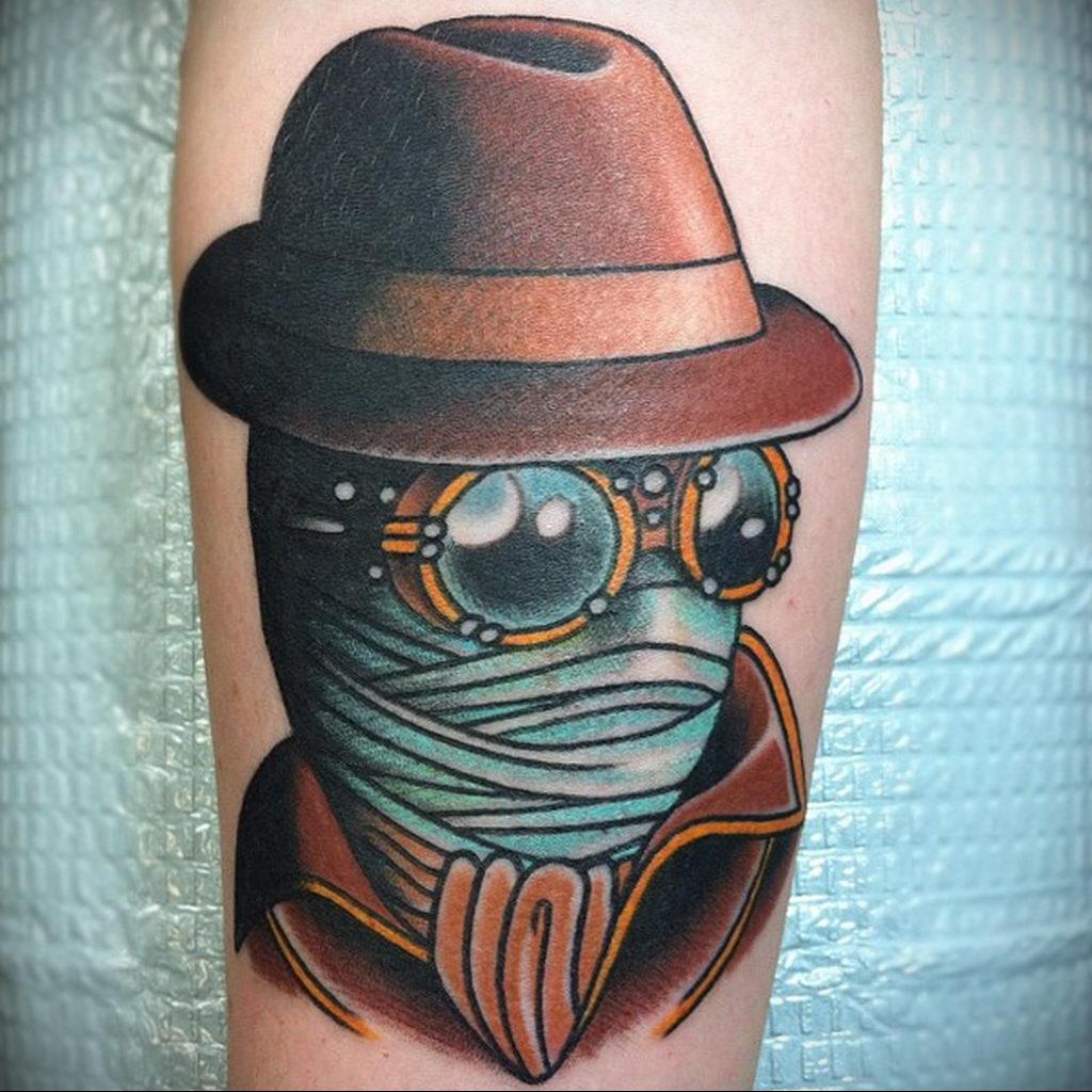 Татуировка с Человеком-Невидимкой – фото рисунка татуировки для сайта tatufoto.com 14