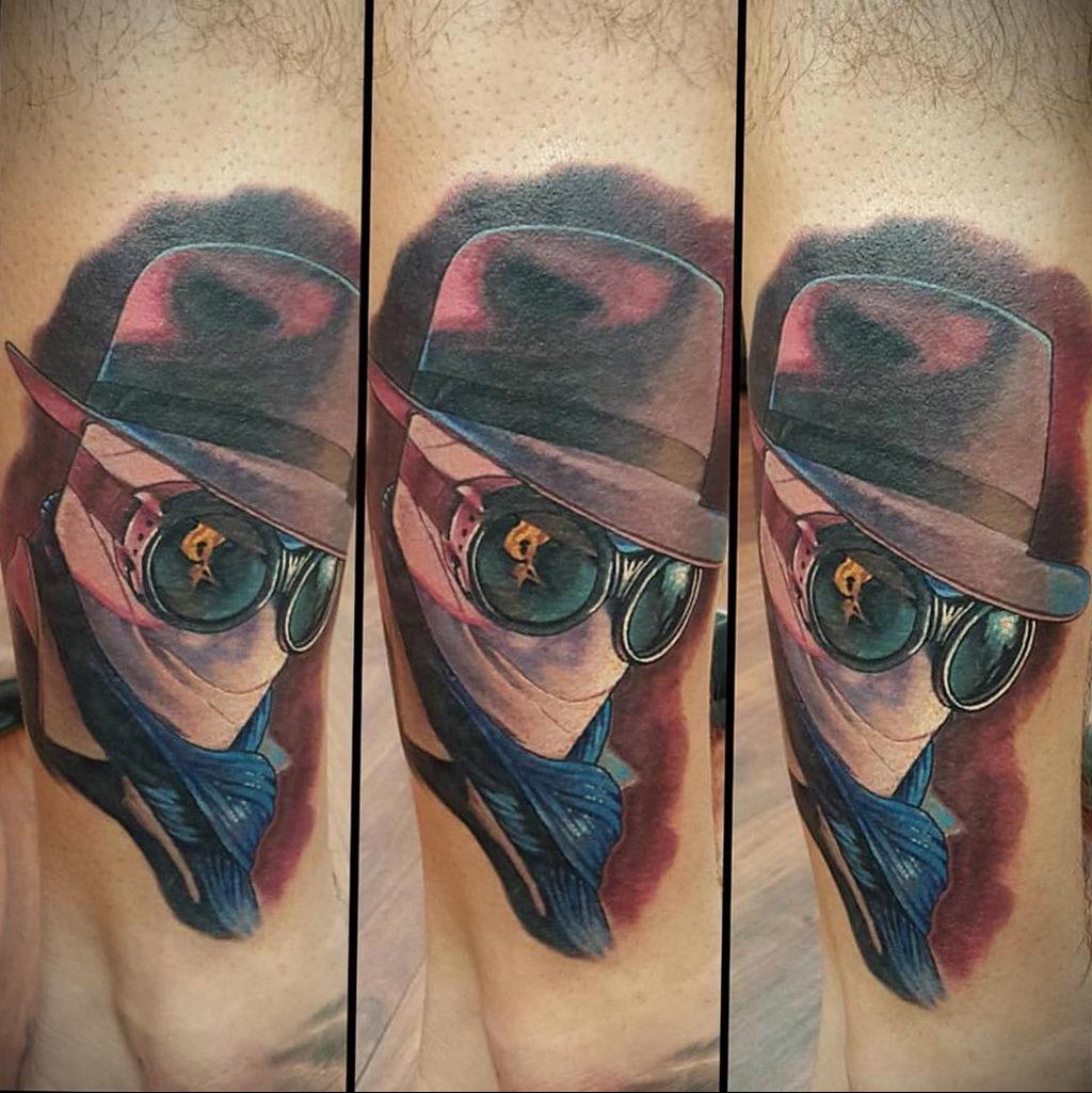 Татуировка с Человеком-Невидимкой – фото рисунка татуировки для сайта tatufoto.com 15