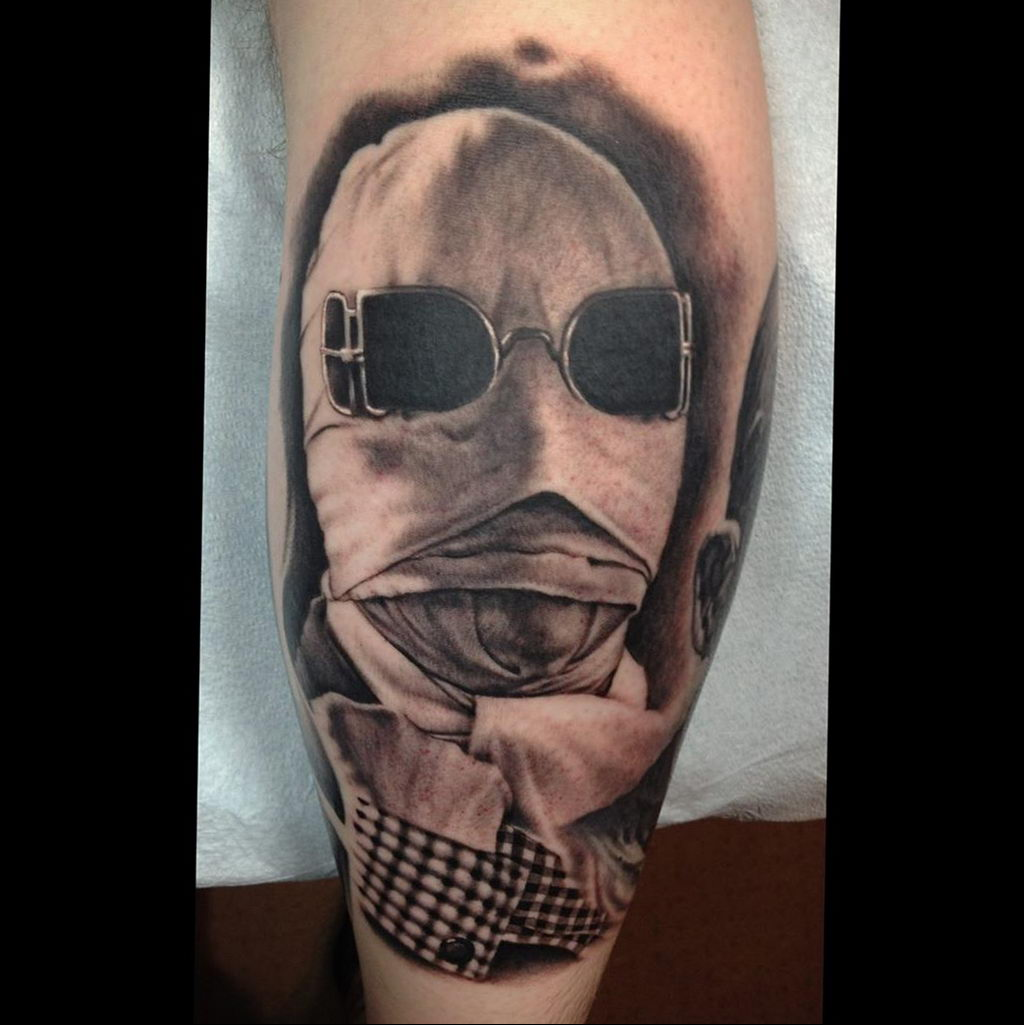 Татуировка с Человеком-Невидимкой – фото рисунка татуировки для сайта tatufoto.com 16