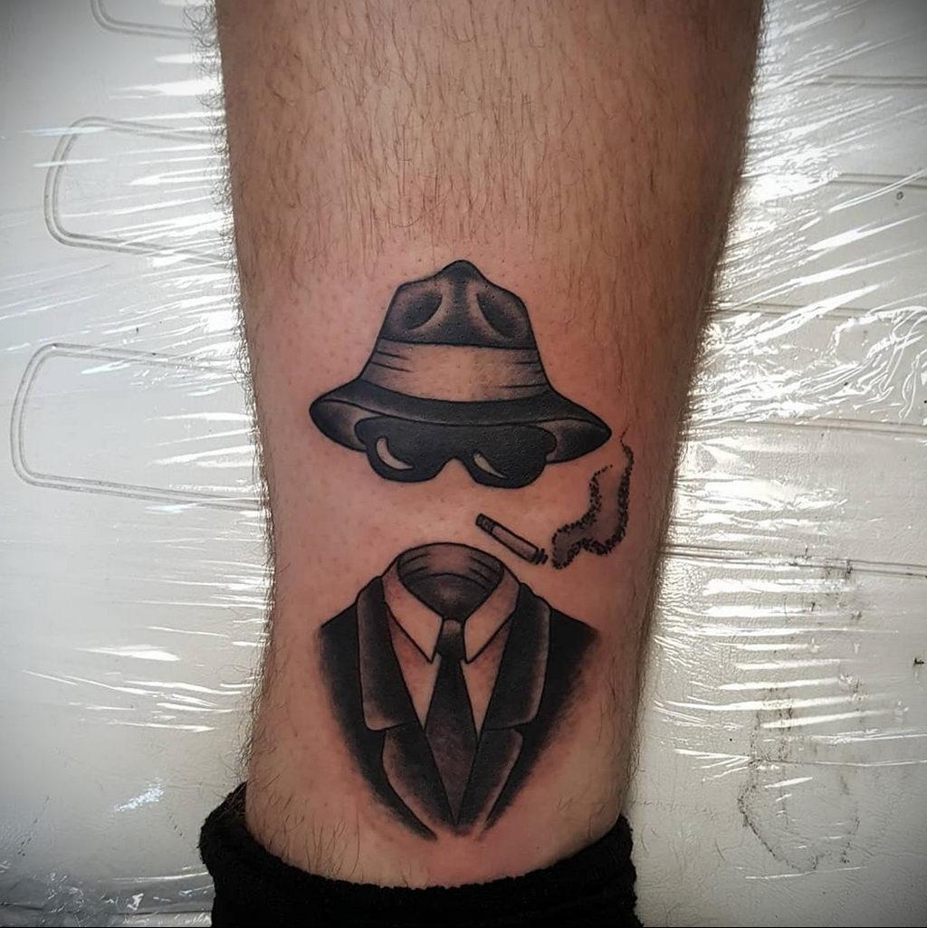 Татуировка с Человеком-Невидимкой – фото рисунка татуировки для сайта tatufoto.com 7