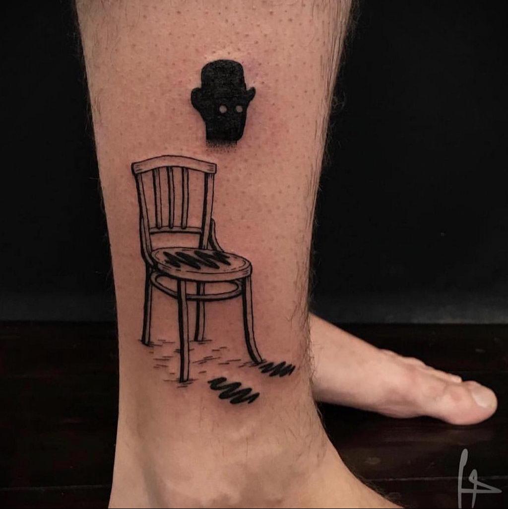 Татуировка с Человеком-Невидимкой – фото рисунка татуировки для сайта tatufoto.com 8