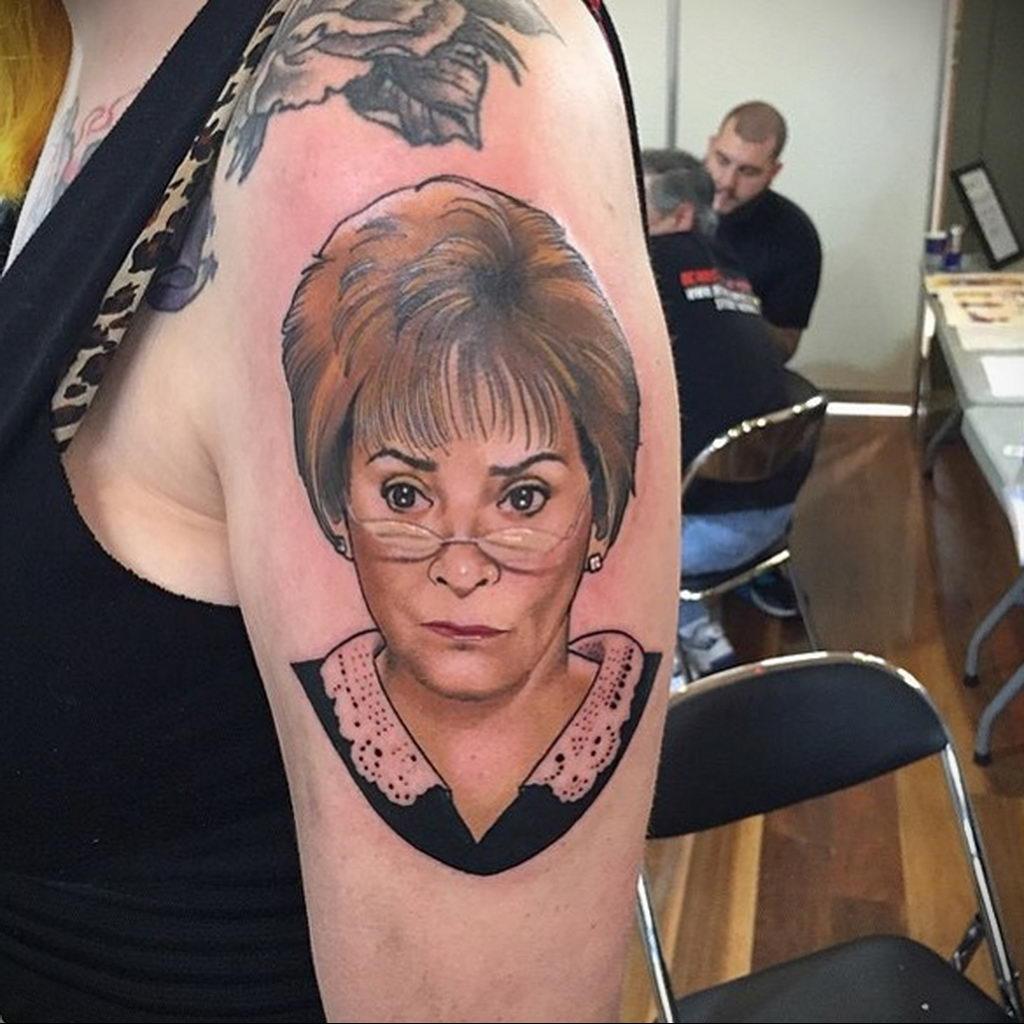 Татуировки с Судьей Джуди – фото для сайта tatufoto.com 10