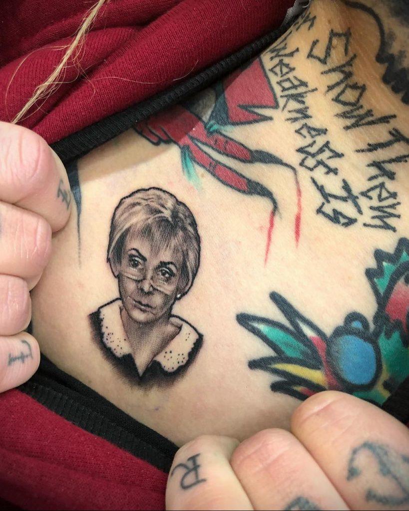 Татуировки с Судьей Джуди – фото для сайта tatufoto.com 3