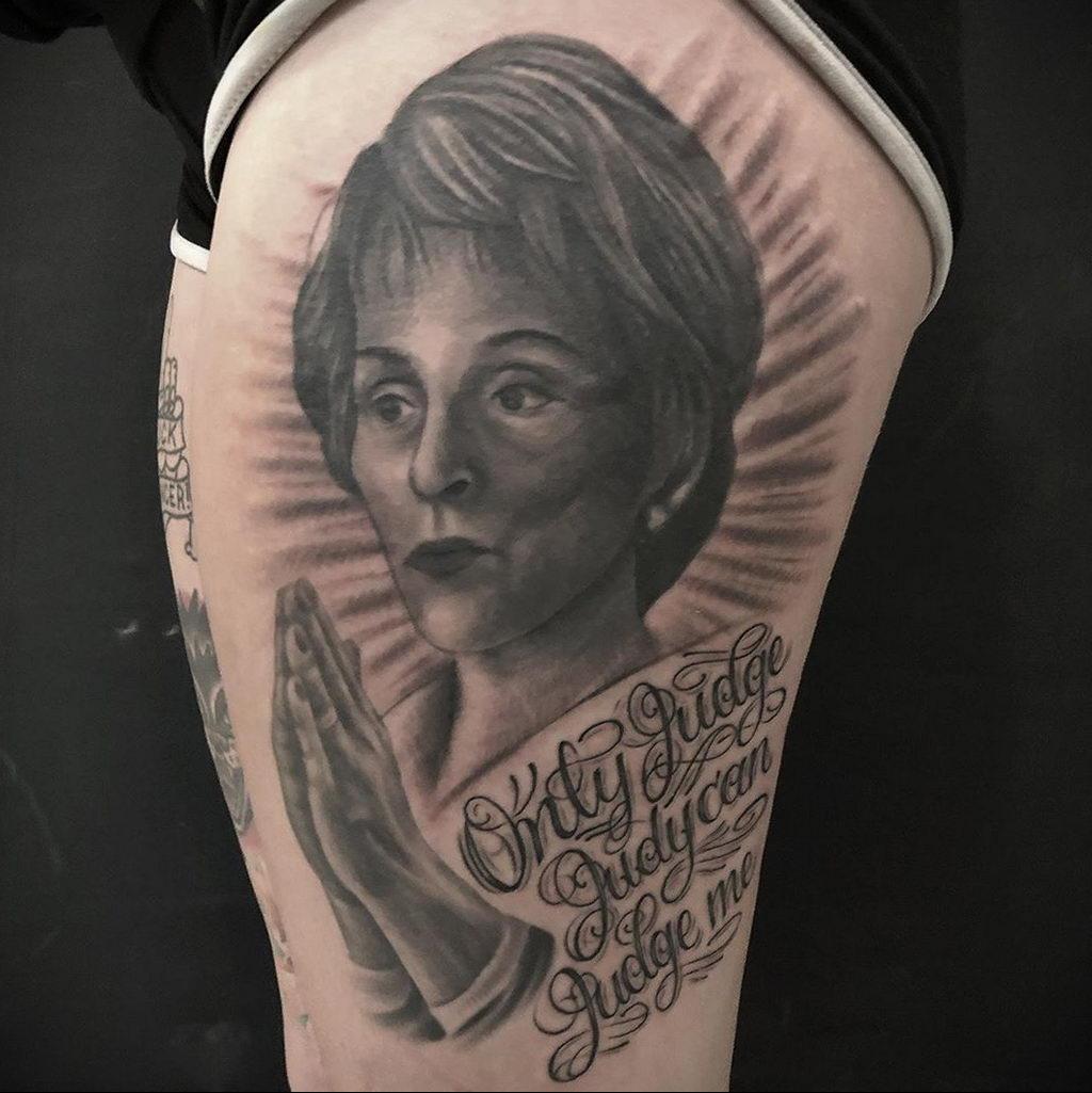 Татуировки с Судьей Джуди – фото для сайта tatufoto.com 4