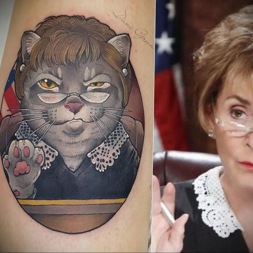 Татуировки с Судьей Джуди – фото для сайта tatufoto.com 5