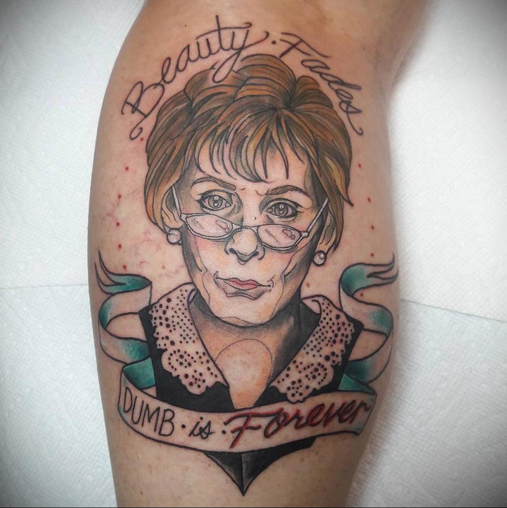 Татуировки с Судьей Джуди – фото для сайта tatufoto.com 8