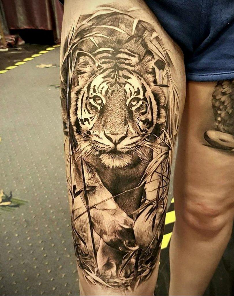 Фото интересной тату с животным 12.03.2020 №024 -animal tattoos- tatufoto.com