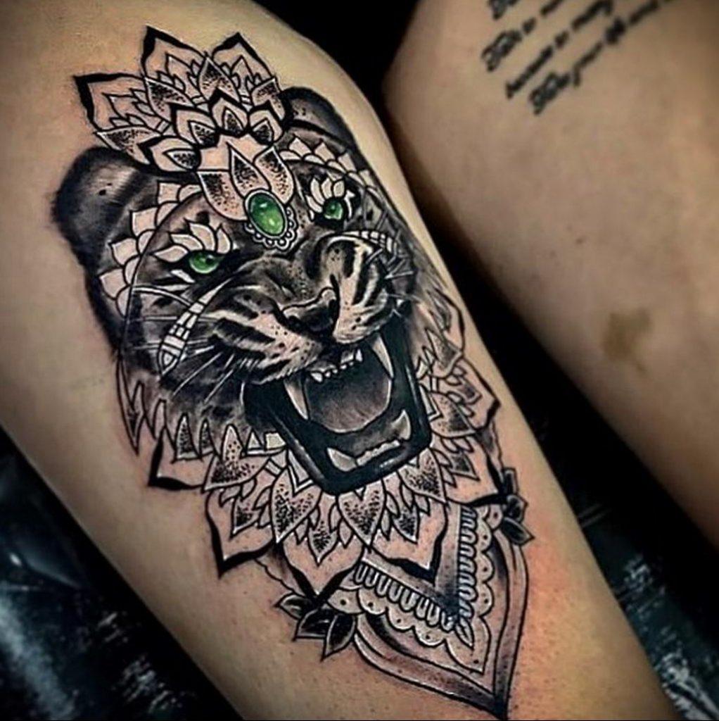 Фото интересной тату с животным 12.03.2020 №037 -animal tattoos- tatufoto.com