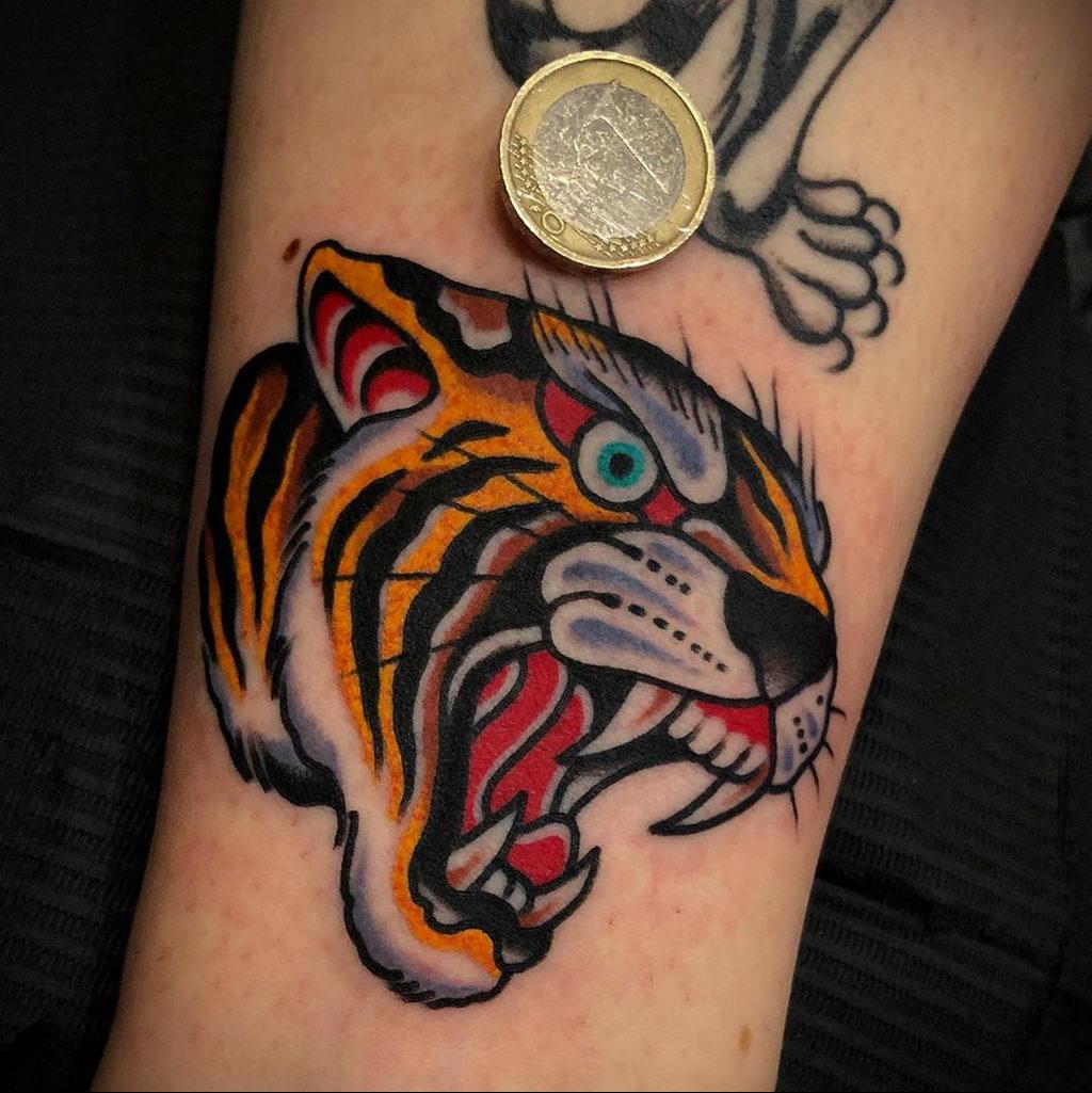 Фото примеры татуировок с тигром от 11.03.2020 – фото для tatufoto.com 3