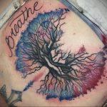 Фото татуировки с легкими человека 23.03.2020 №013 -lung tattoos- tatufoto.com