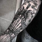 Фото татуировки с легкими человека 23.03.2020 №015 -lung tattoos- tatufoto.com