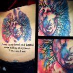 Фото татуировки с легкими человека 23.03.2020 №020 -lung tattoos- tatufoto.com