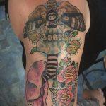 Фото татуировки с легкими человека 23.03.2020 №043 -lung tattoos- tatufoto.com