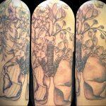Фото татуировки с легкими человека 23.03.2020 №044 -lung tattoos- tatufoto.com
