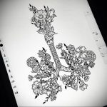 Фото татуировки с легкими человека 23.03.2020 №046 -lung tattoos- tatufoto.com